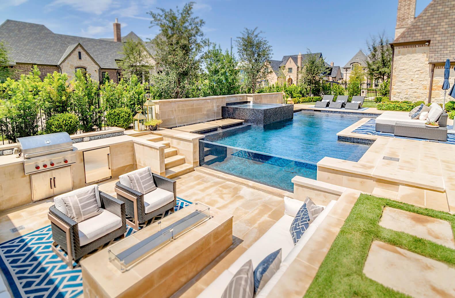 #6 Pool Contractor in America Riverbend Sandler Pools