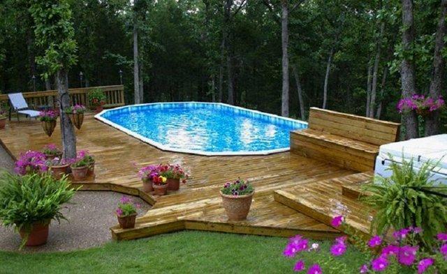 Above ground pool contractors